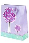 Пакет подарочный Цветочное дерево