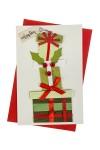 Открытка подарочная новогодняя Подарки
