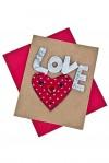Открытка подарочная Мечтательное сердце