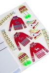 Набор новогодний для создания открытки Красный свитер