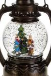 Украшение новогоднее светящееся Дети у елки