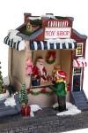 Украшение новогоднее светящееся и двигающееся Магазин игрушек