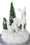 Украшение новогоднее светящееся Прекрасные олени