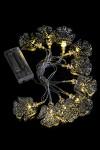 Гирлянда декоративная светящаяся Ангелочки