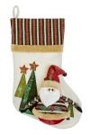 Рождественский носок Дедушка Мороз