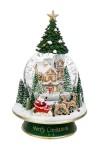 Шар со снегом Дед Мороз на санях