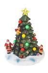 Украшение новогоднее светящееся и музыкальное Нарядная елка