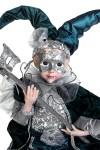 Украшение для интерьера музыкальное и двигающееся Арлекин с маской