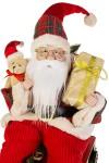 Украшение новогоднее Дед Мороз на паровозе