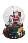 Украшение новогоднее музыкальное Шар - Встреча с Дедом Морозом