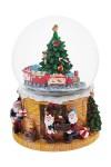 Украшение новогоднее музыкальное и двигающееся Шар - Мастерская Деда Мороза