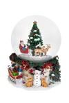 Украшение новогоднее музыкальное и двигающееся Шар - Время подарков