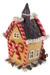 Украшение светящееся Шоколадный домик