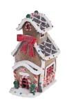 Украшение для интерьера светящееся Сладкий домик с бантиком