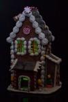 Украшение для интерьера светящееся Пряничный домик