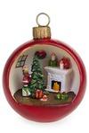 Украшение новогоднее Девочка у елки