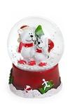 Украшение новогоднее Шар- Мишки с елкой