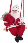 Украшение новогоднее Дед Мороз на качелях