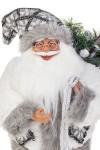 Украшение новогоднее Дед Мороз с елочкой