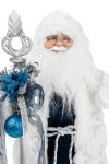 Украшение новогоднее Дед Мороз с посохом