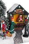 Украшение новогоднее светящееся Магазин подарков