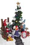 Украшение новогоднее светящееся В гостях у Санта-Клауса
