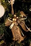 Украшение новогоднее Золотой колокольчик