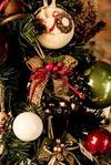 Украшение новогоднее Венок из колокольчиков