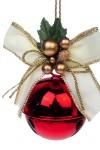 Украшение новогоднее Бусинка