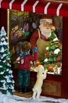 Украшение новогоднее светящееся, музык. и двиг. Магазин игрушек