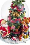 Украшение новогоднее музыкальное Шар - елка с подарками