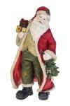 Украшение новогоднее Дед Мороз с ёлочкой и подарком