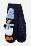 Носки домашние Пингви
