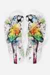 Шлепанцы женские Попугай