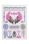 Набор тату-наклеек для тела Крылья
