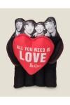 Игрушка The Beatles с сердечком