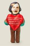 Игрушка Гоголь с сердечком