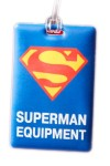 Бирка на багаж Супермен