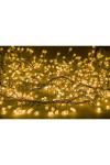 Гирлянда 3 м, 288 диодов, цвет желтый Мишура