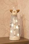 Керамическая фигурка Оленёнок с шарфом