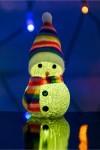 Фигура светодиодная Снеговик