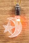 Фигурка подвесная светящаяся Месяц