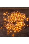 Гирлянда светодиодная универсальная 100 LED Гирлянда светодиодная универсальная 100 LED ТЕПЛЫЙ БЕЛЫЙ 10 метров, прозрачный ПВХ