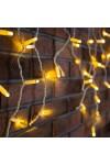Гирлянда Айсикл (бахрома) светодиодный  2,4 х 0,6 м Айсикл