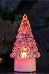 Фигура светодиодная на подставке Елочка средняя