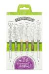 Набор растущих карандашей Салатный микс