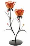 Подсвечник декоративный для 2-х свечей Роза