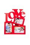 Фоторамка для 3-х фото Love