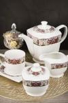 Чайный сервиз 15 предметов Царственная лилия
