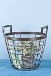 Корзинка декоративная для садового инвентаря